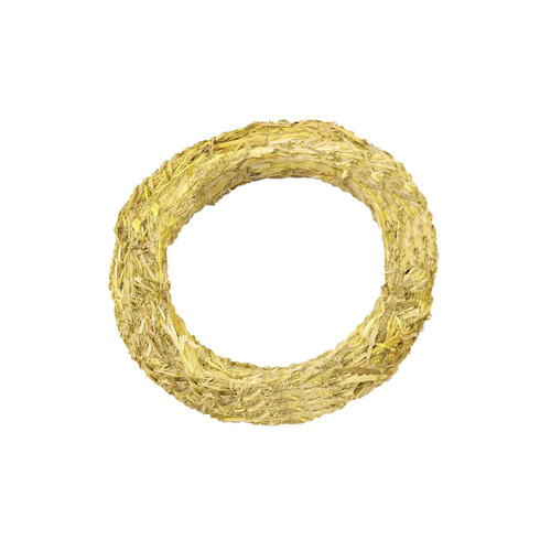 Pack of 10 Natural Straw Circular Ring Small Wreath Bases 20cm/8in