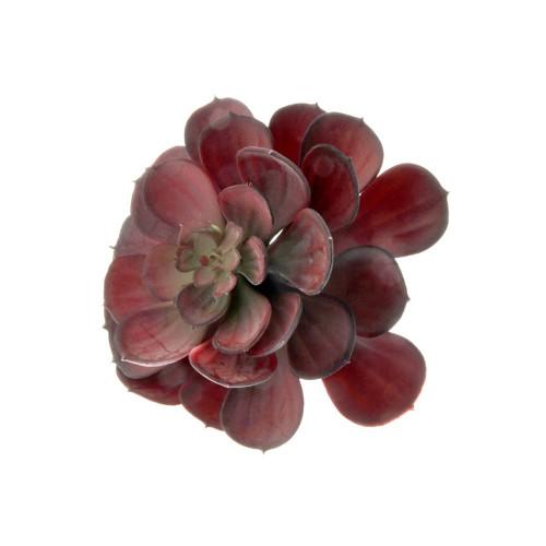 Echeveria Type Artificial Succulent Red
