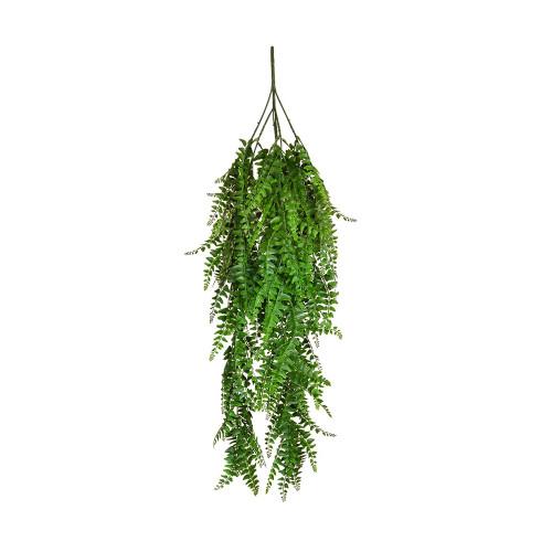 Trailing Artificial Green Fern Plant 80cm