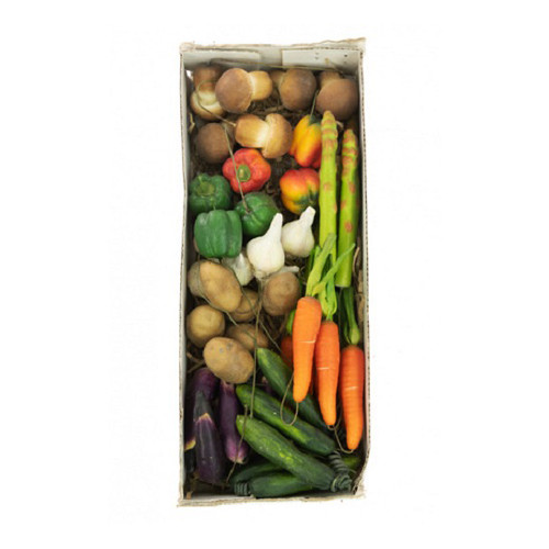 Assorted Artificial Miniature Vegetable Picks
