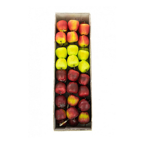 Assorted Artificial Miniature Apple Picks