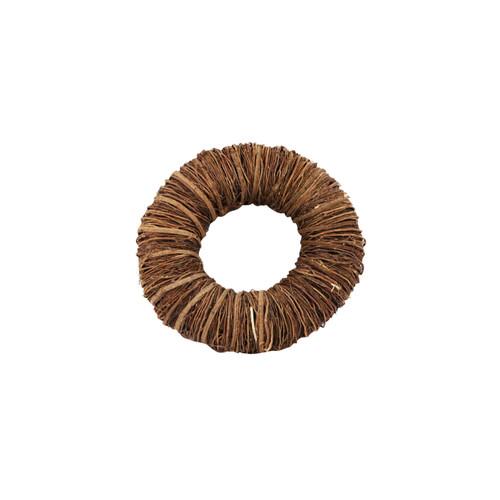 Natural Bound Brown Twig Wreath Base 25cm