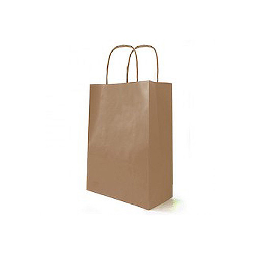 Kraft Bag Cord Handle 25 x 12 x 31cm
