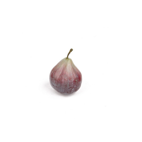 Artificial Common Fig Fruit 8cm Tall With Stalk