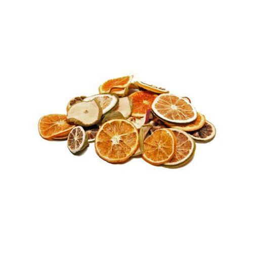 Dried Fruit Mix Apple Orange Lime Slices