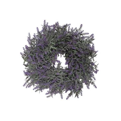 Artificial Lavender Natural Twig Wreath