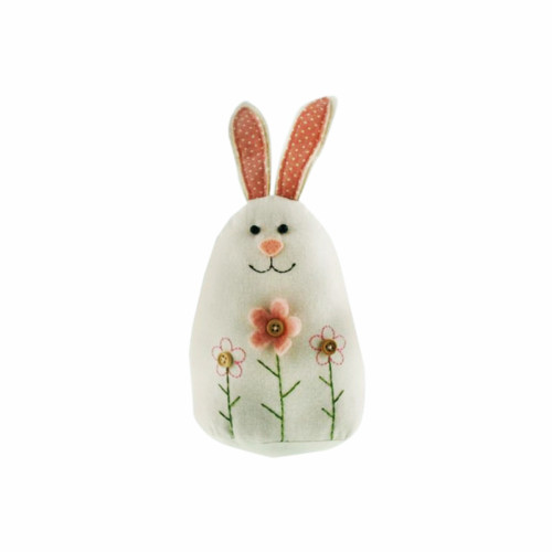 Fabric Spring Easter Rabbit Figure