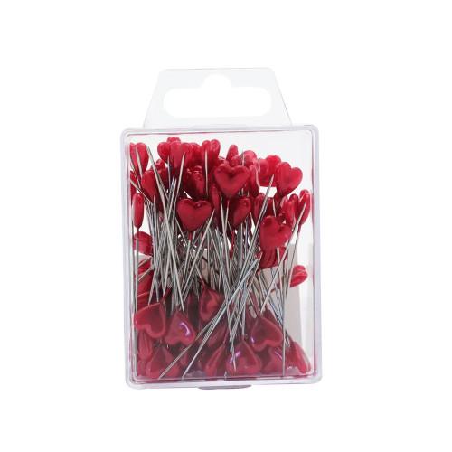 Red Heart Florist Pins