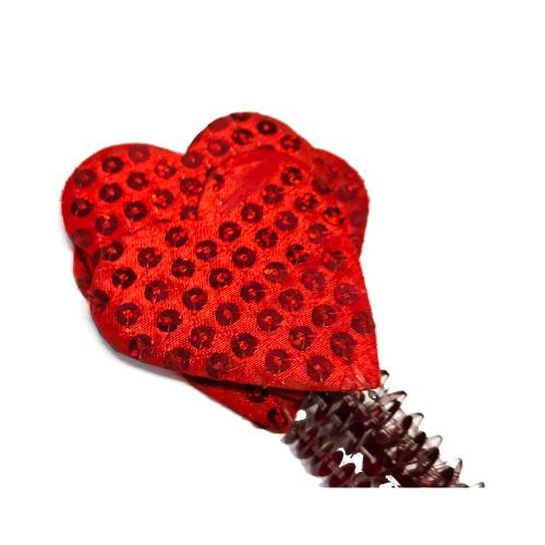 Red Valentine Heart Picks detail