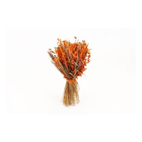 Dried Grasses Bouquet Orange