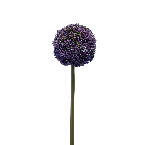 Allium Artificial Single Flower Stem Blue