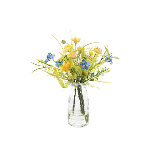 Artificial Silk Buttercup and Gypsophila Mix
