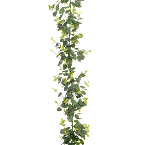 Eucalyptus Garland Green Artificial