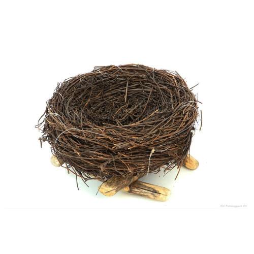Natural Coco Fibre Twig Bird's Nest Decoration