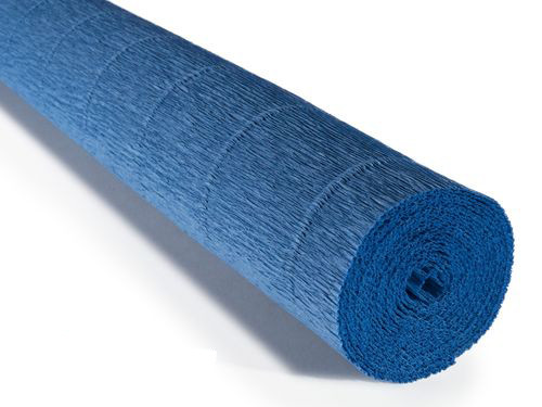 Crepe paper roll 180g Blue Chinese Porcelain