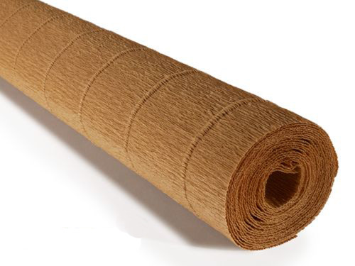 Crepe paper roll 180g Yellow Earth