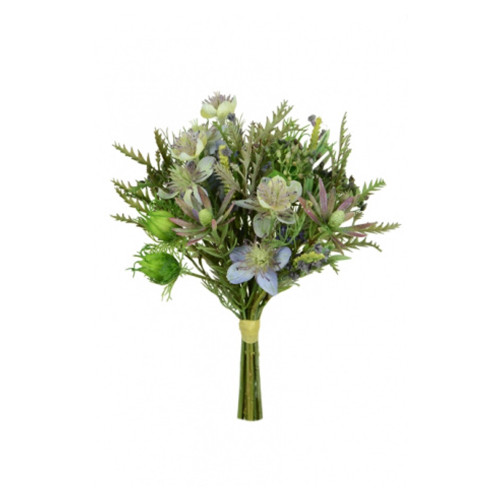 Artificial Wild Mixed Meadow Bouquet