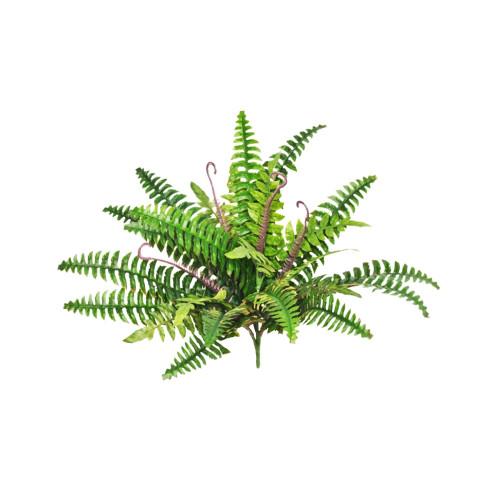 Faux Silk Boston Fern Plant 24 Leaf