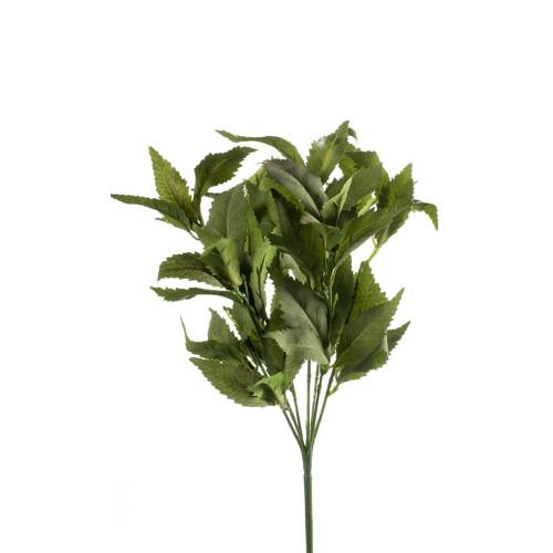 Faux Silk Spearmint Herb Bush