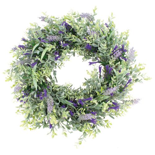 Summer Wreath Artificial Lavender and Bellflower