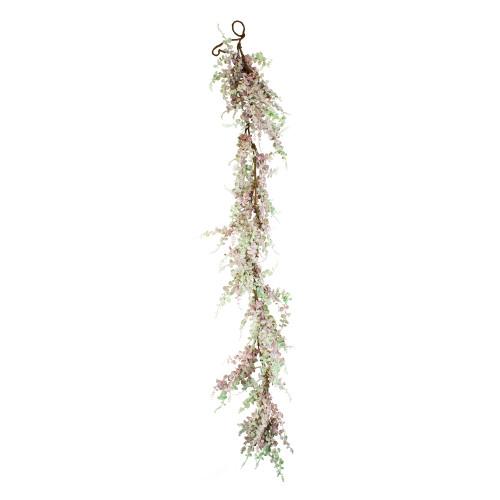 Artificial Succulent Garland Pink Green