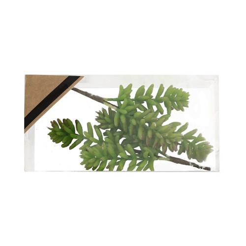 Artificial Succulent Pick 12cm/4.75 Inches Box of 2