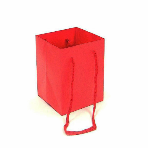 Bouquet Bag 18 x 18 x 25cm Pack of 10 Red