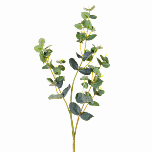 Mini Green Faux Silk Eucalyptus Spray