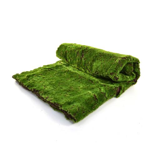 Moss Mat Large Green Artificial 1m x 2m Fire Retardant