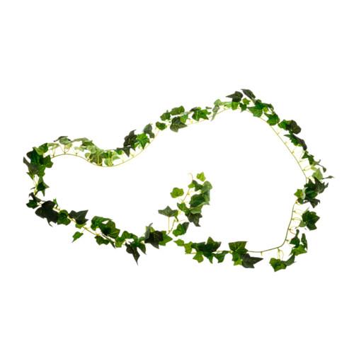 Faux Silk Mini Green Ivy Garland