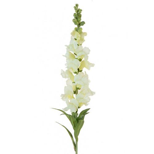 Faux Silk Snapdragon White