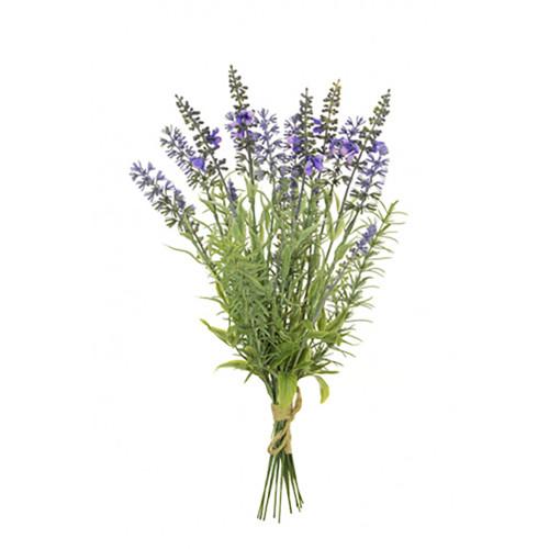 Artificial Lavender and Foliage Bundle