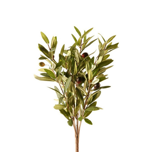 Artificial Silk Olive Bush With Fruit