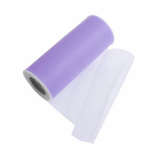 Tulle Polyester Ribbon Lavender