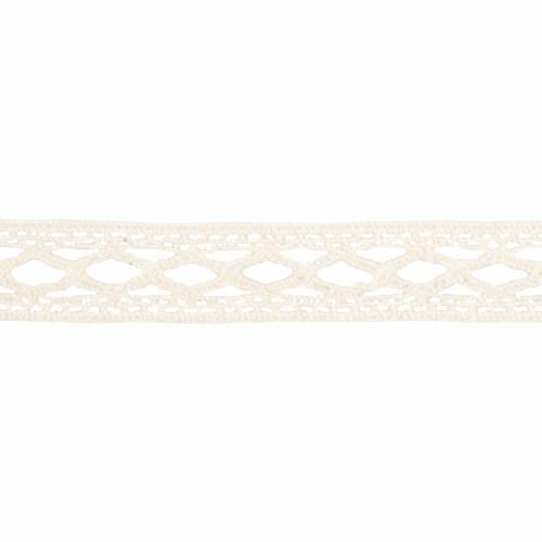 Cotton Lace Ribbon Ivory