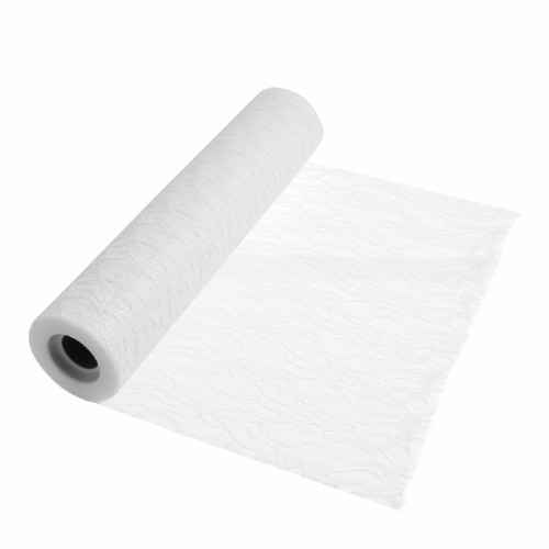 White Lace Roll 30cm/12 Inches