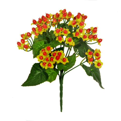 Artificial Hypericum Bush With Red Berries