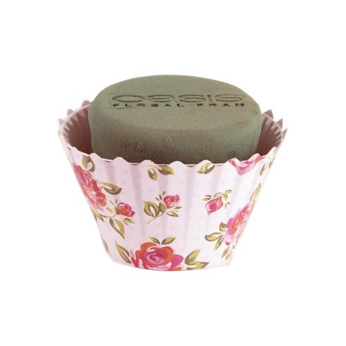 Oasis® Cupcake 6 x 12cm Pink Rose