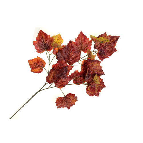 Faux Silk Autumn Grape Ivy Spray