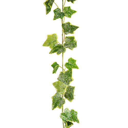 Jack Frost Faux Silk Ivy Winter Garland Variegated