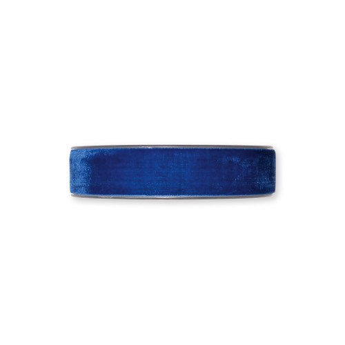 Velvet Fabric Ribbon Dark Blue