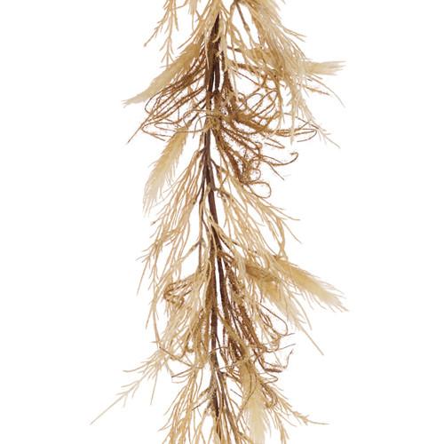 Dried Natural Reed Grass Garland