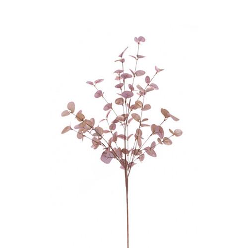 Rose Gold Metallic Artificial Eucalyptus Spray