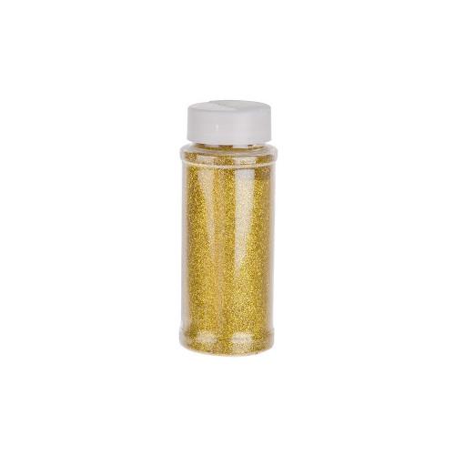 Flower Glitter 100g Bottle Gold