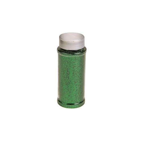 Flower Glitter 100g Bottle Green