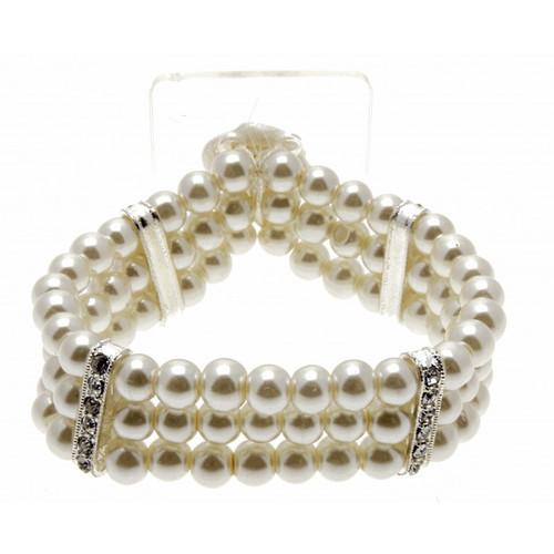 Empress Ivory Corsage Bracelet