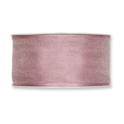 Organza Ribbon 40mm Soft Antique Rose x 25m
