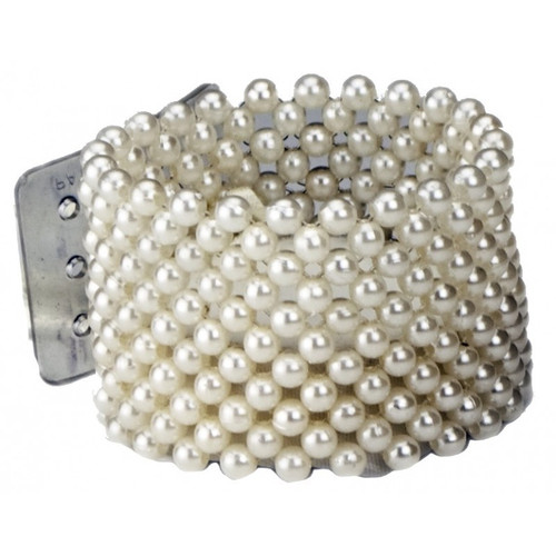 Ivory Pearl Corsage Bracelet 4cm