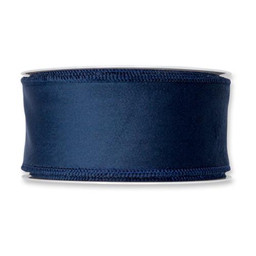 Velvet Fabric Ribbon 50mm x8m Blue