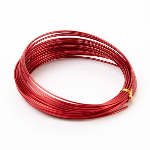 Aluminium Wire 100g Red